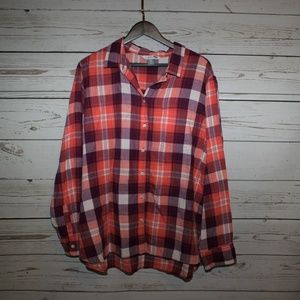 Old Navy button up flannel